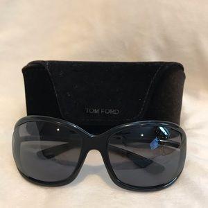 Tom Ford Jennifer Black Sunglasses